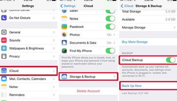 Ini Cara Yang Benar Backup Data iPhone Lewat iCloud