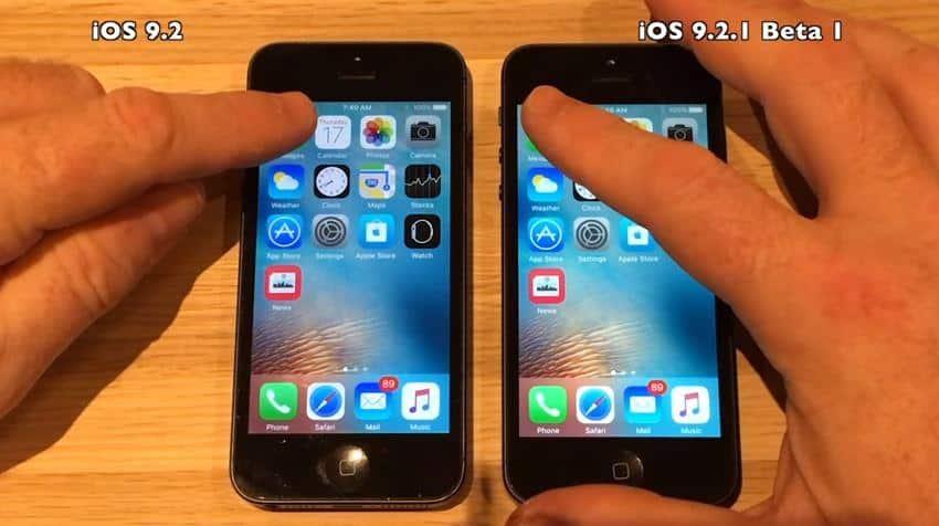 iOS 9.2 vs iOS 9.2.1, Mana Yang Lebih Gesit, Mari Kita Buktikan