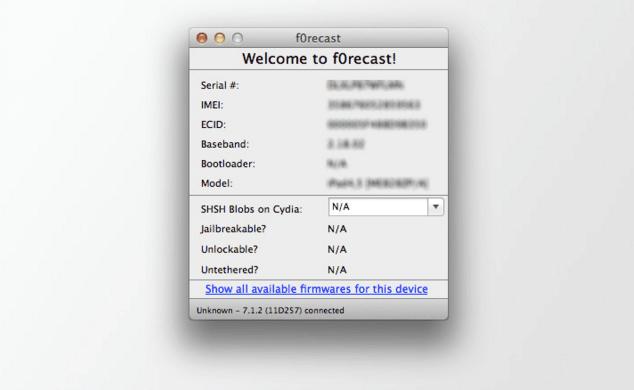 Cara Deteksi Versi IPSW Pada iPhone, iPad dan iPod Touch