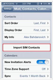 Cara Memindahkan Kontak Dari Kartu Sim Ke iPhone 2