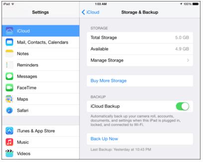 Cara Menghapus File Backup di iCloud