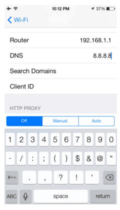 Cara Tergampang Mengganti DNS Server di iPhone atau iPad 2