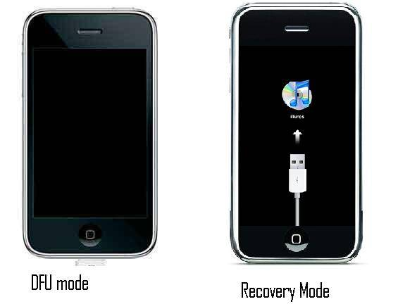 how to put iphone in dfu recovery mode