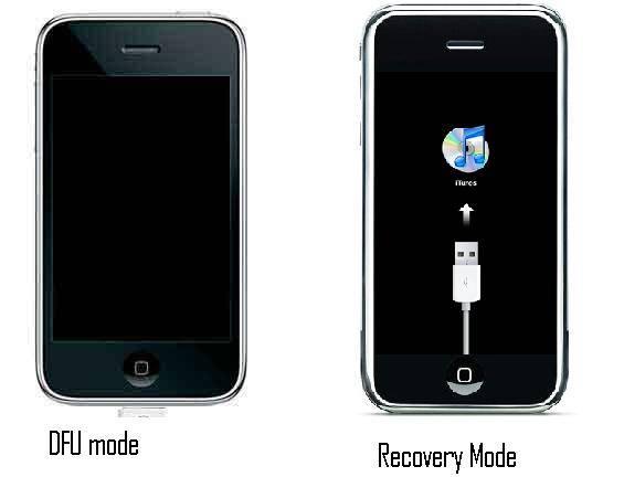 DFU Mode recovery