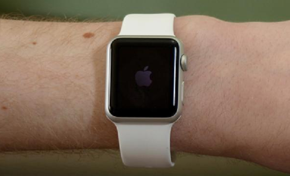Pakai Apple Watch pada pergelangan tangan