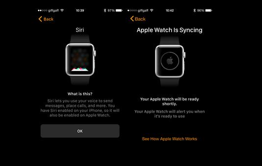 Selesai, Apple Watch Anda telah diaktifkan dan terhubung dengan iPhone