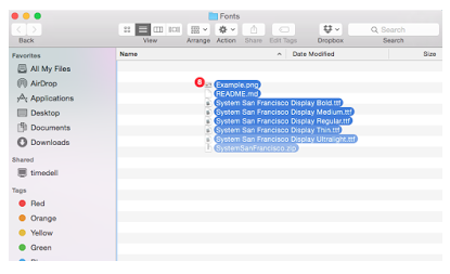 Cara Paling Gampang Mengganti Font San Francisco di OS X 5