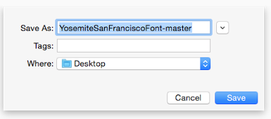 Cara Paling Gampang Mengganti Font San Francisco di OS X