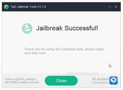 Jailbreak Menggunakan TaiG Jailbreak 2