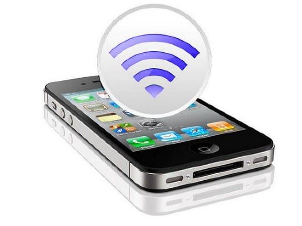 Koneksi Wi-Fi di iPhone