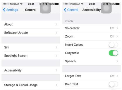 Optimalkan pengaturan Accessibility