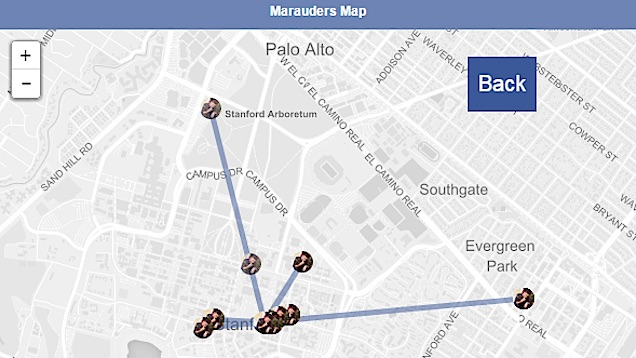 Tracking Location dari Facebook Messenger