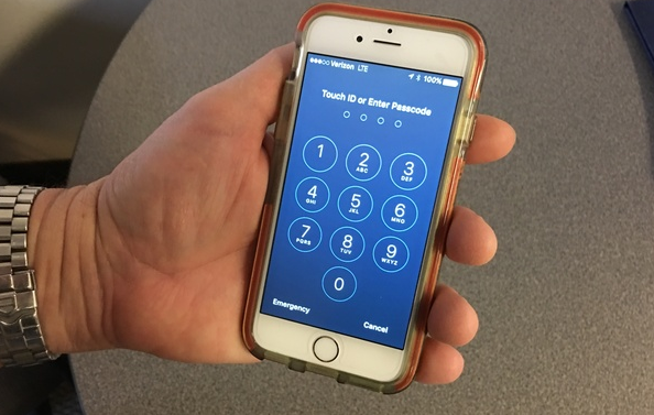 4 Digit Passcode Lock di iOS 9