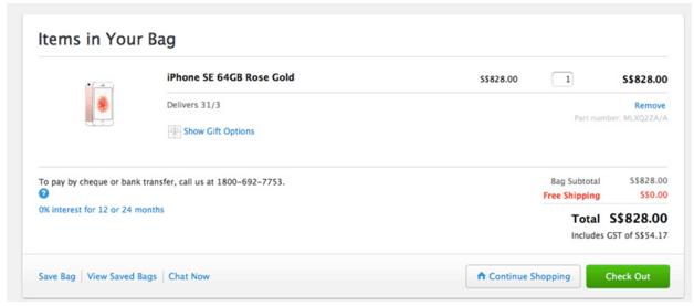 Belanja di Apple Online Store Singapura 4