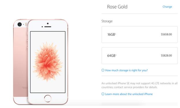 Belanja di Apple Online Store Singapura