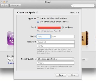 Cara Membuat Email @iCloud 4