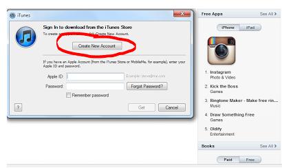 Cara Mengatasi Tidak Ada Pilihan NONE Pada Saat Membuat Apple ID di iTunes 4