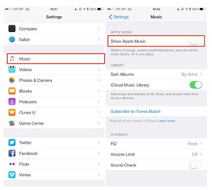 Cara Menyembunyikan Apple Music di iPhone, iPad, iPod Touch atau Desktop
