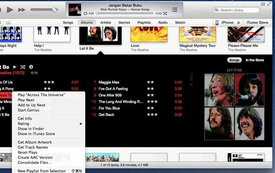 Cara Paling Mudah Menampilkan Lirik Lagu di iPhone atau iPad Via iTunes 2