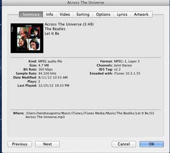 Cara Paling Mudah Menampilkan Lirik Lagu di iPhone atau iPad Via iTunes 3