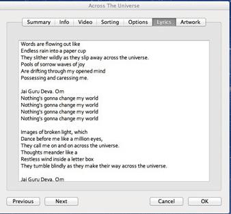 Cara Paling Mudah Menampilkan Lirik Lagu di iPhone atau iPad Via iTunes 4
