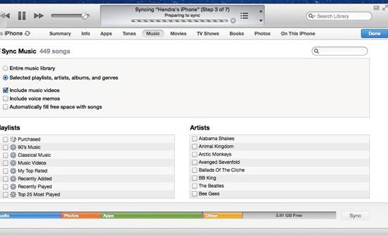 Cara Paling Mudah Menampilkan Lirik Lagu di iPhone atau iPad Via iTunes 5