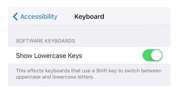 Cara Simpel Merubah Huruf Kecil Pada Keyboard iOS 9 Menjadi Huruf Kapital