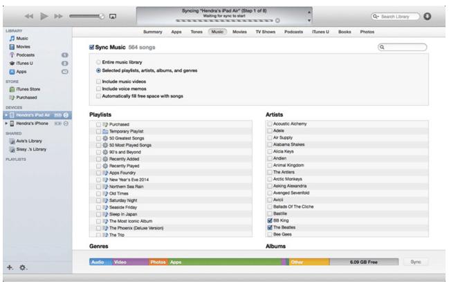 Cara Singkat Memasukan Lagu atau Video Ke iPhone Lewat iTunes Terbaru