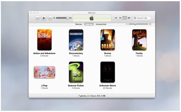 Tranfer dengan iTunes