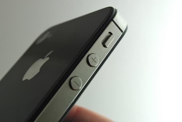 Volume Button di iPhone