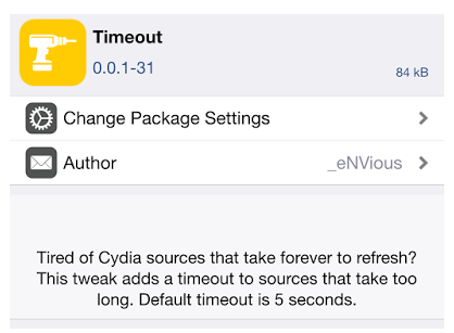 force cydia refresh sources