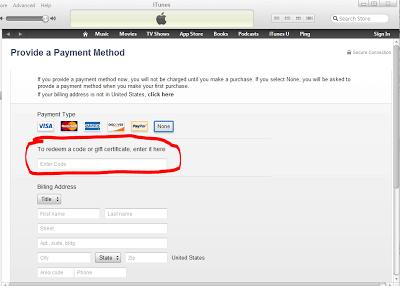 Cara Mengatasi To Redeem a Code or Gift Certificate Apple id 7