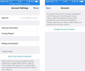Cara Merubah Apple ID Indonesia Menjadi Apple ID US 2