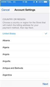 Cara Merubah Apple ID Indonesia Menjadi Apple ID US 3