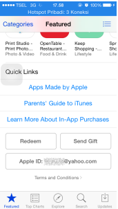 Cara Merubah Apple ID Indonesia Menjadi Apple ID US