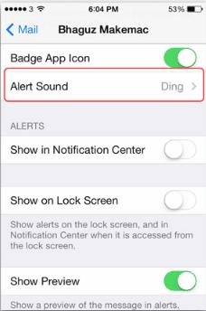Cara Paling Ampuh Mematikan Suara Email di iPhone, iPad dan iPod Touch 3