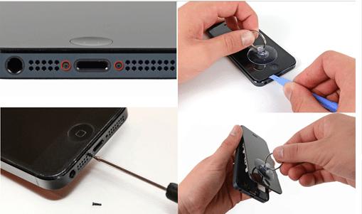 Cara Paling Simpel Mengganti Baterai iPhone 5S Sendiri Hanya 5 Menit 1