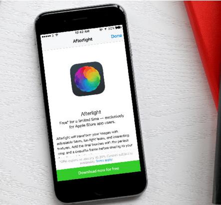 Cara Rahasia Mendapatkan Afterlight di App Apple Store 3