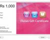 Certificate Apple id redeem apple gift card