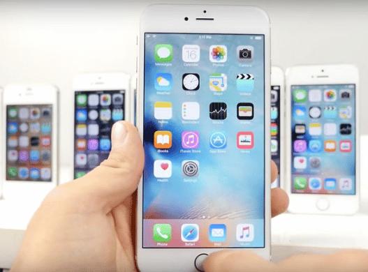 Dock Icon di Homescreen Pada iPhone