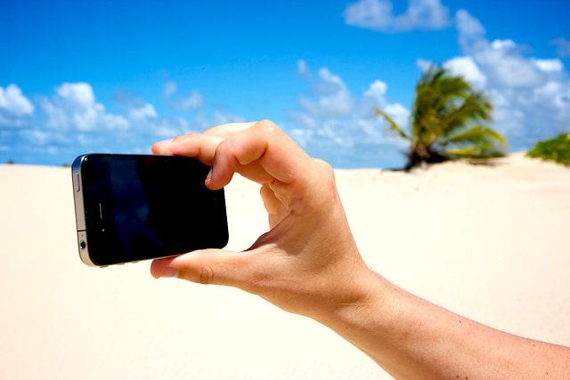 Shutter Kamera di iPhone
