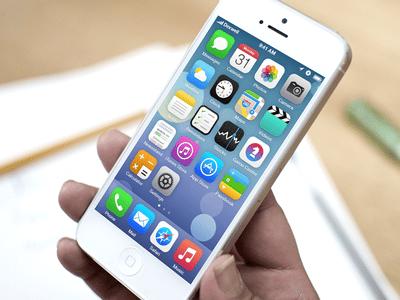 SpringBoard di Perangkat iOS