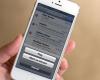 Suara Email di iPhone