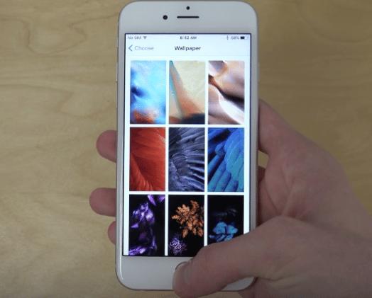 Wallpaper iPhone atau iPad