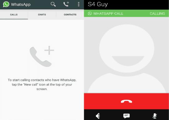 Call WhatsApp di iPhone