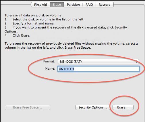 Cara Format Flashdisk atau Hardisk di Macbook 3
