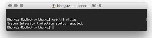 Cara Mematikan Rootless di OS X El Capitan 2