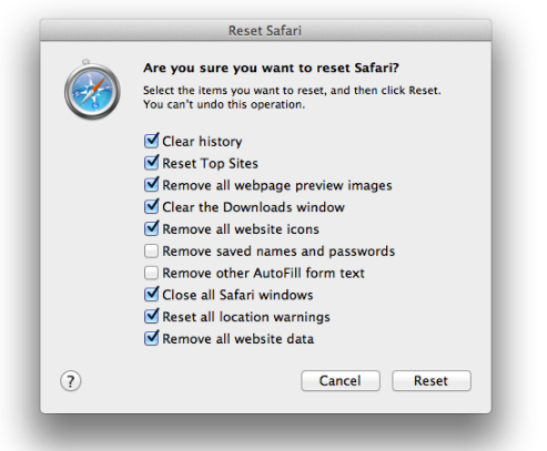 Cara Membersihkan Cache Safari di Mac 22