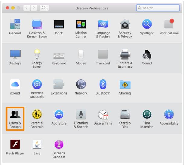 Cara Menambahkan Guest User di Mac 1