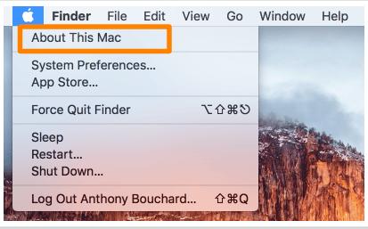 Cara Mengetahui Nomor Model Mac Anda 1